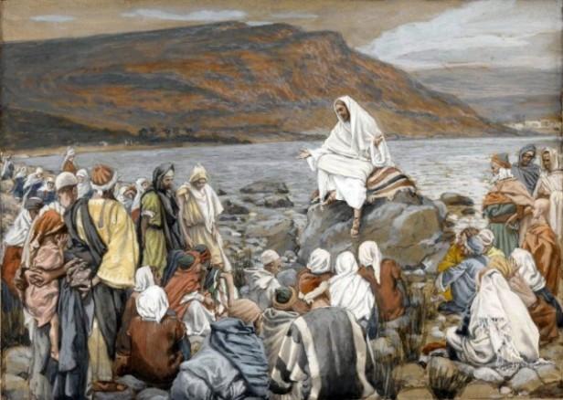 Jesus Teaching by the Sea, James Tissot